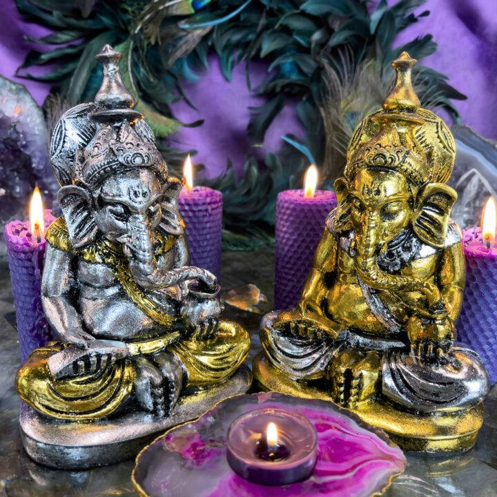 Remover of Obstacles Handmade Ganesha