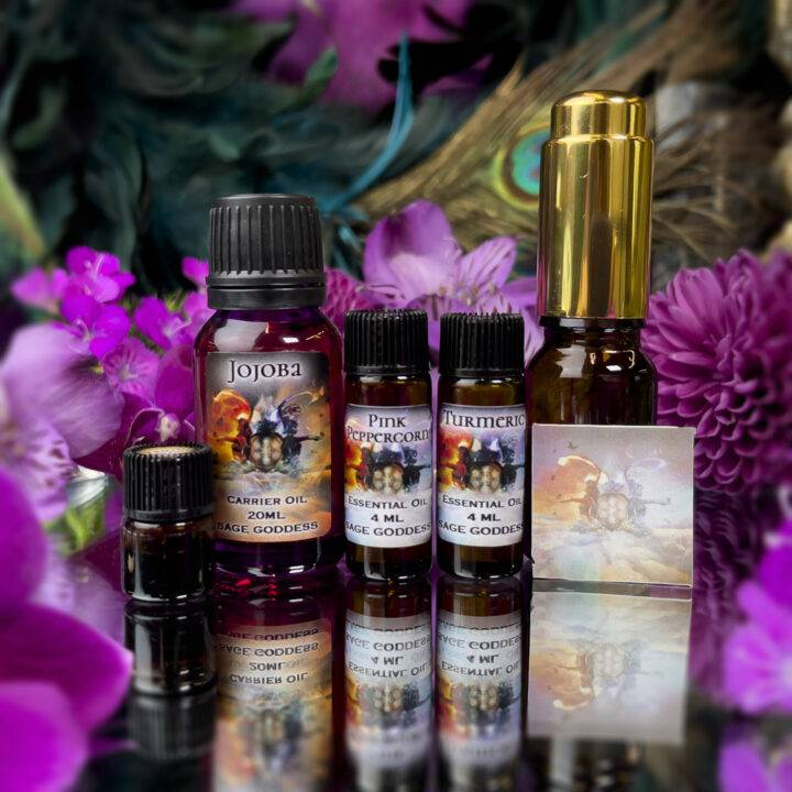 Soul Shift June Class Tools: Journey to Openness Perfume Blending Set
