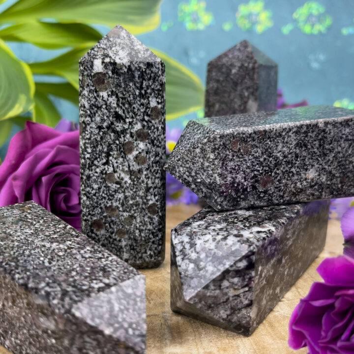Spinel in Biotite Matrix Manifestation Obelisk