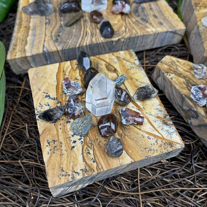 Transition and Transformation Crystal Grid