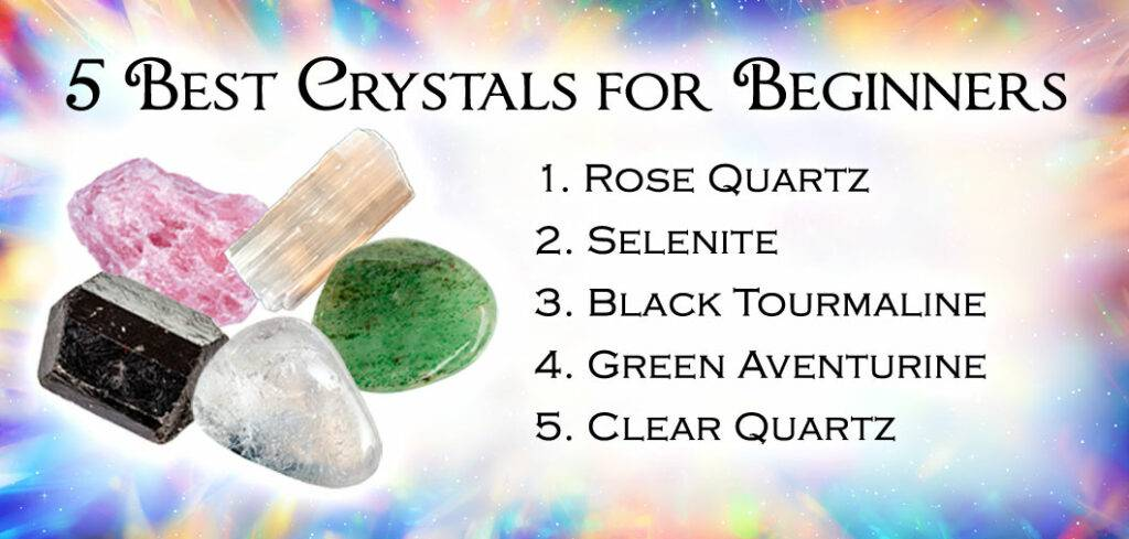 5 Best Crystals For Beginners