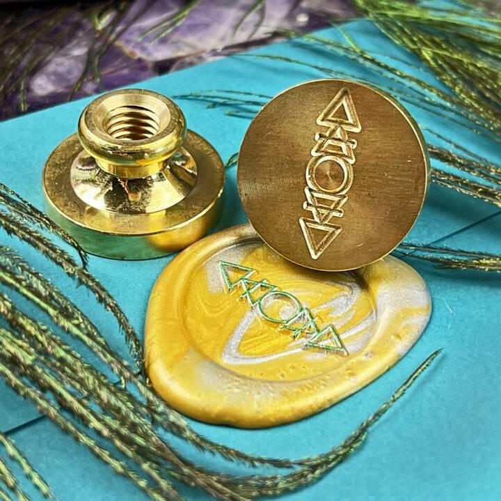 Alchemy Symbol Wax Stamp