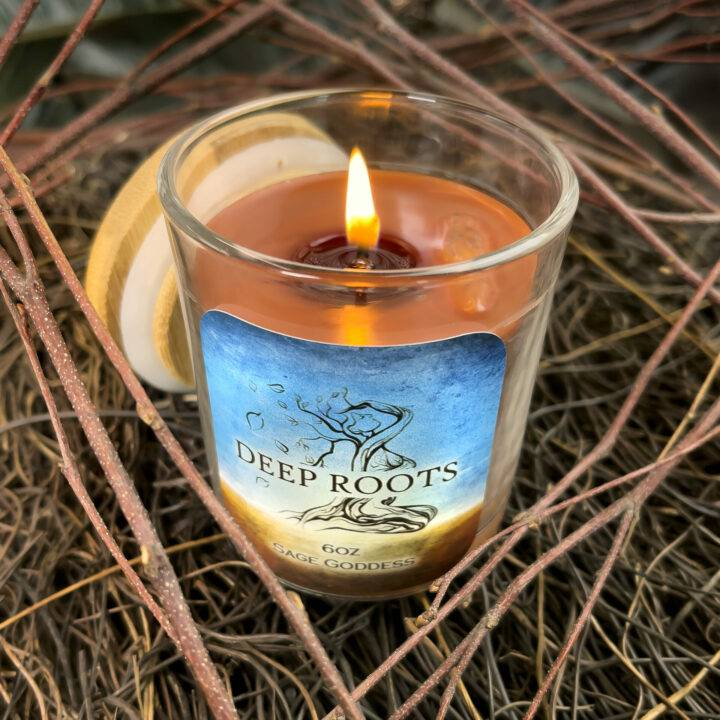 Deep Roots Intention Candle