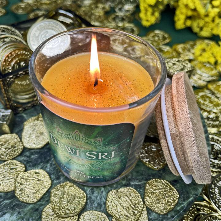 Dewi Sri Intention Candle