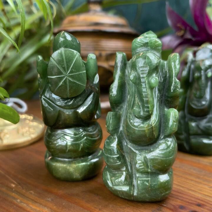Fuchsite Ganesha