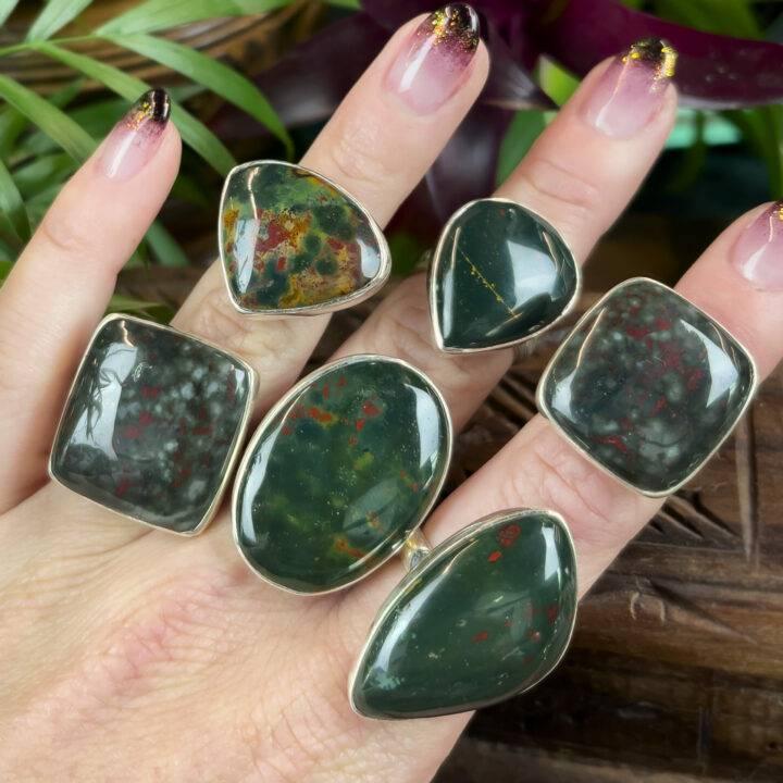 Heal, Rejuvenate, Protect Bloodstone Ring