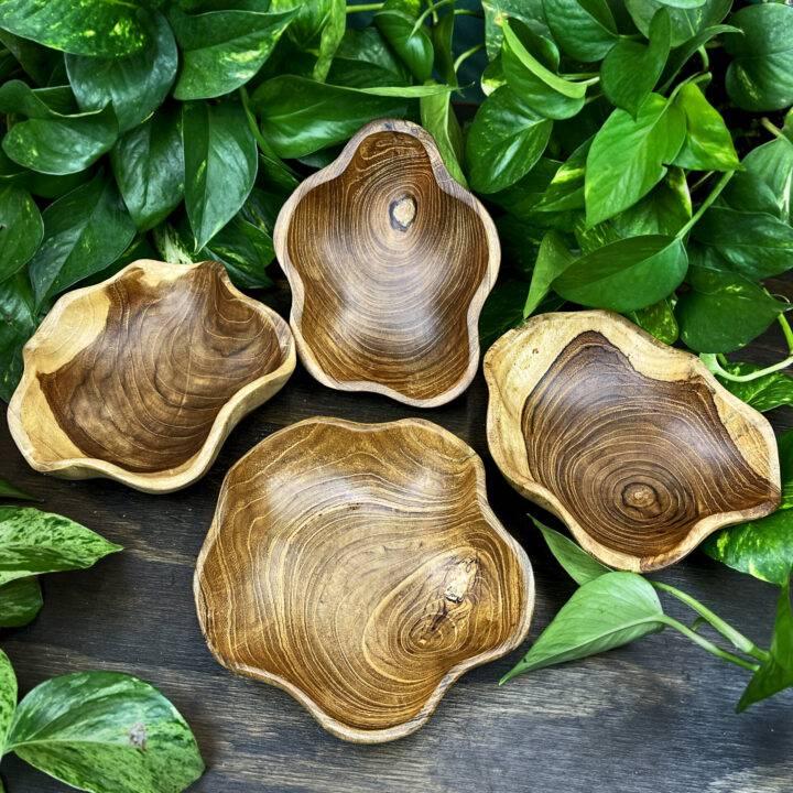 Handmade Teak Wood Bowl