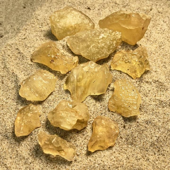 Libyan Gold Tektite