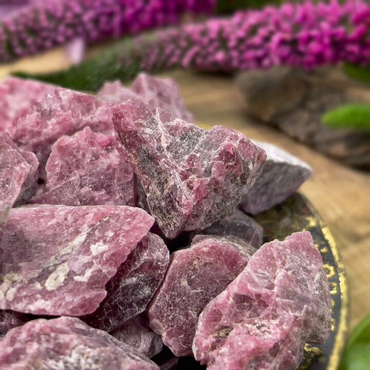Natural Rhodonite