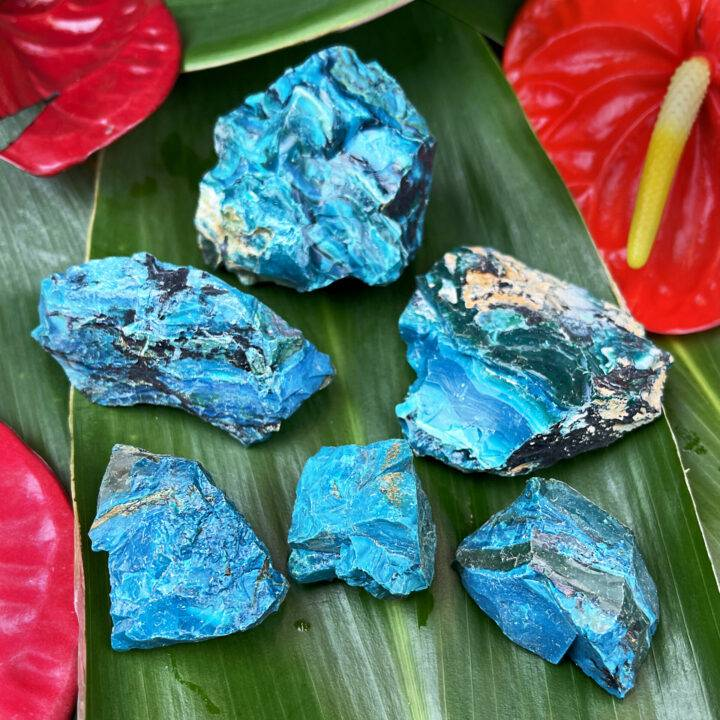 Natural Chilean Blue Opal