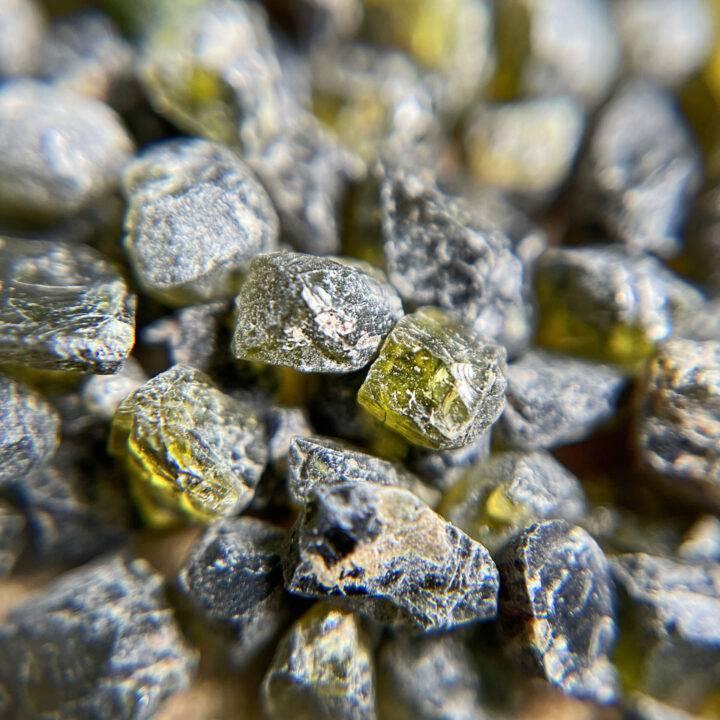 Natural Enstatite Crystals