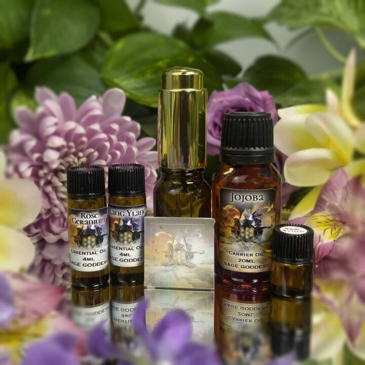 Soul Shift July Class Tools: Journey to Ecstasy Perfume Blending Set