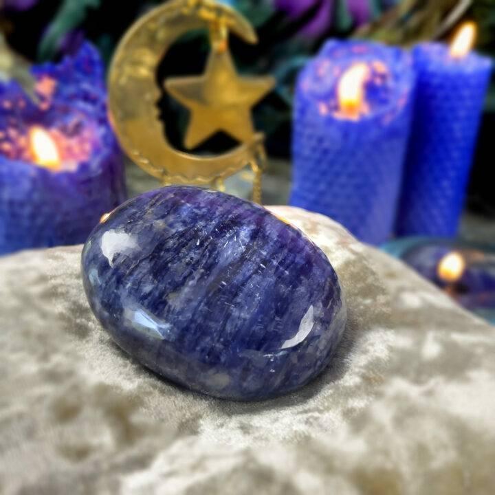 Sweet Dreams Sodalite Palm Stone
