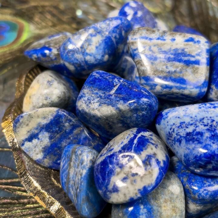 Tumbled Lapis Lazuli