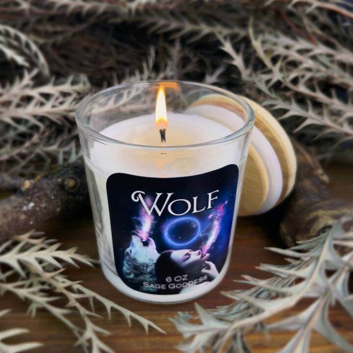 Wolf Intention Candle