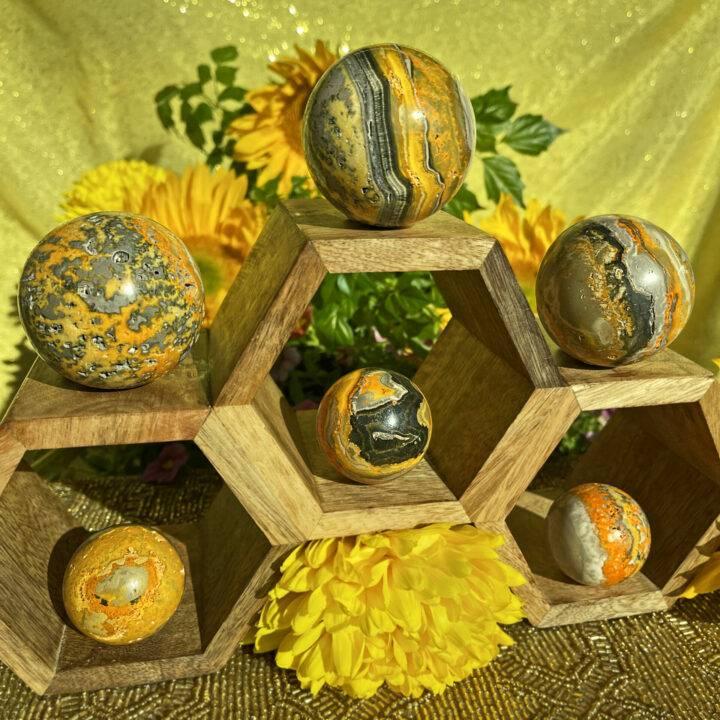 Bumblebee Jasper Power and Creativity Sphere