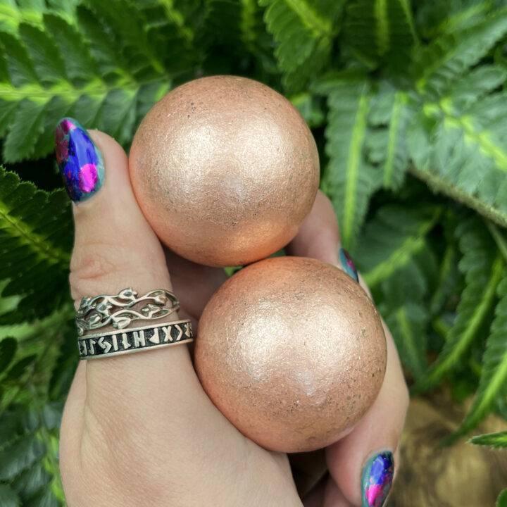 Healthy Energy Flow Copper Sphere