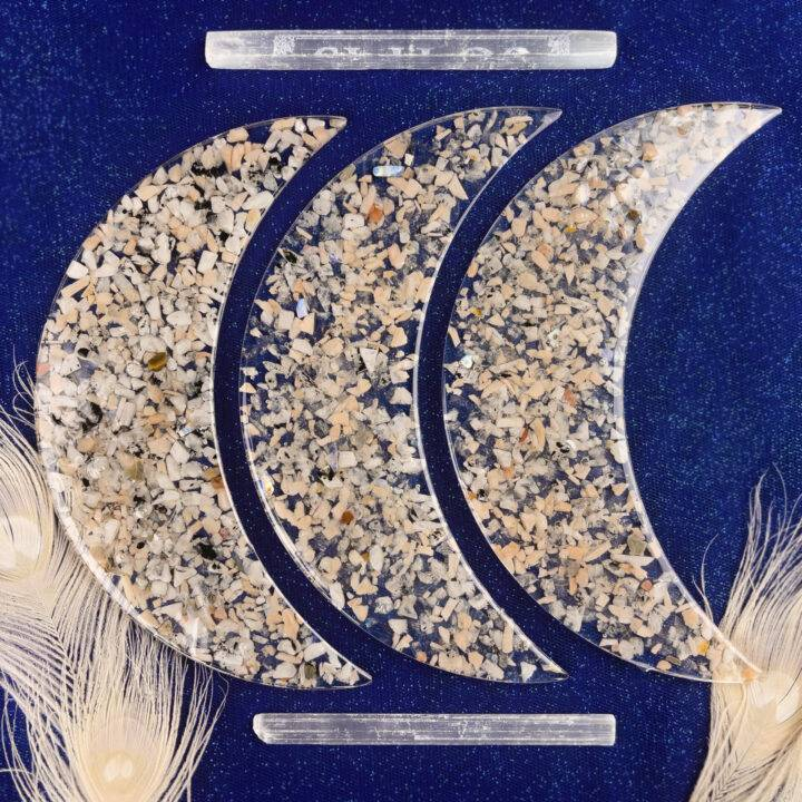 Luna's Magical Rainbow Moonstone Tray