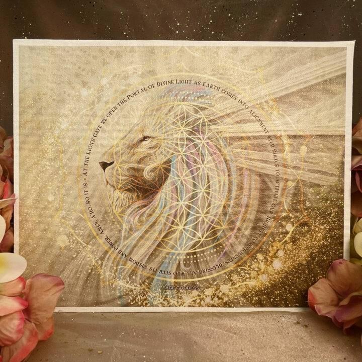 Lion's Gate White Lion Empowerment Set