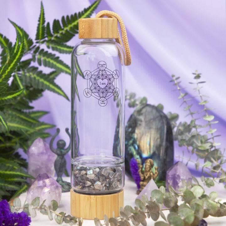 Moon Magic Crystal Charging Water Bottle