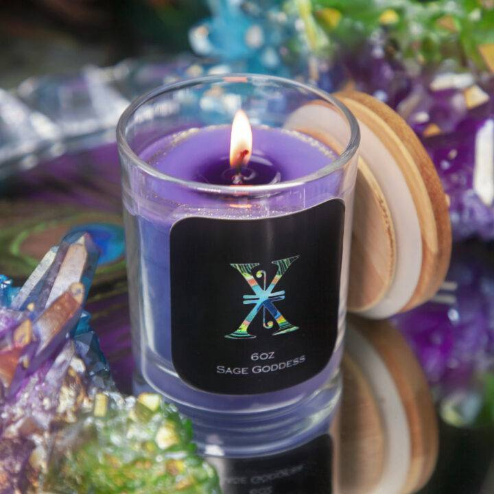 X Anniversary Intention Candle with Surprise Magic