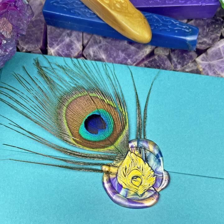 X Anniversary Peacock Stamp