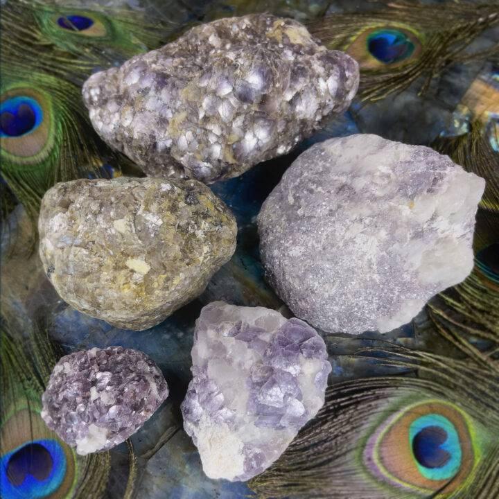 Bubble Lepidolite Magic