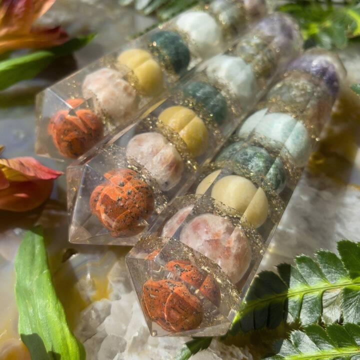 Chakra Healing Orgone Vogel