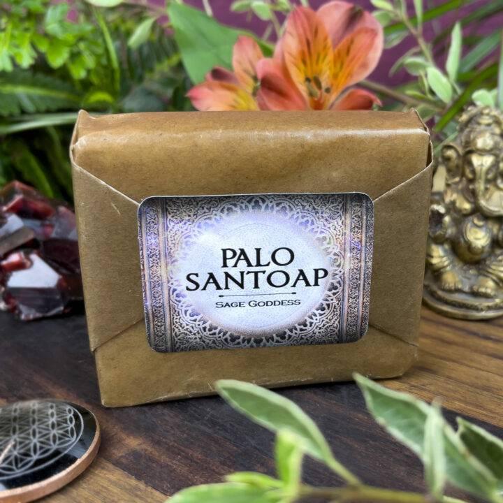 Cold Process Palo Santoap