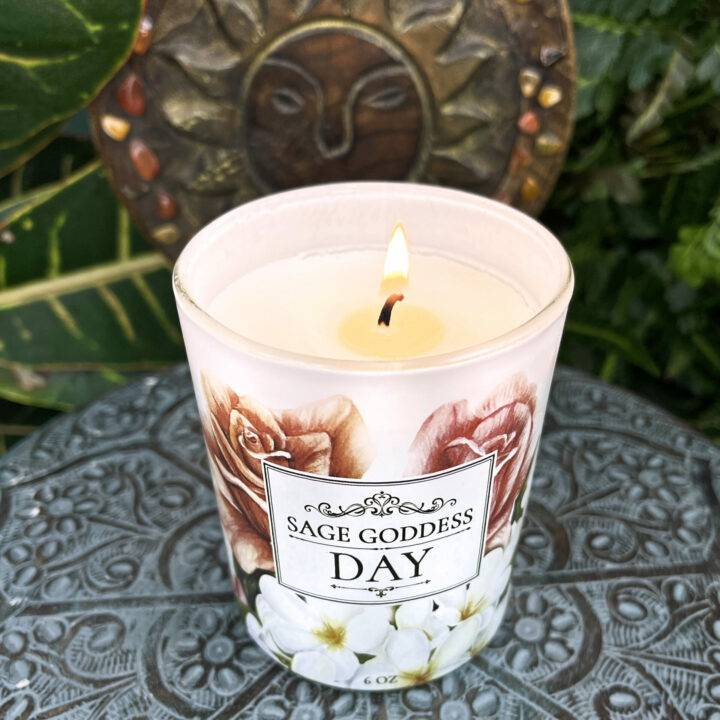 Day Intention Candle