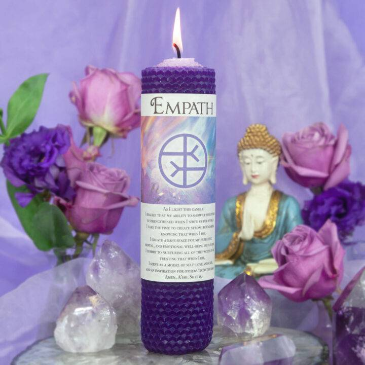 Empath Beeswax Intention Candle