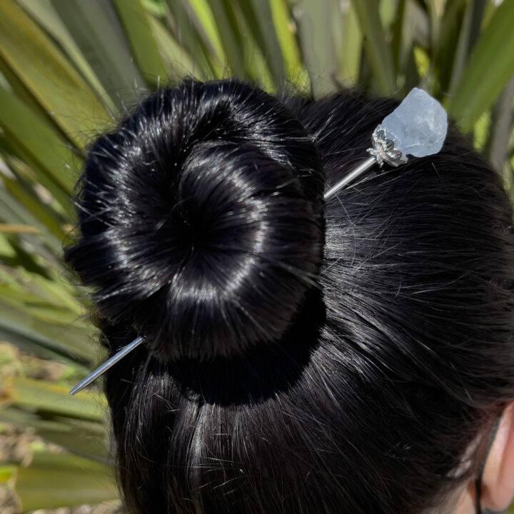 Gemstone Hair Pin