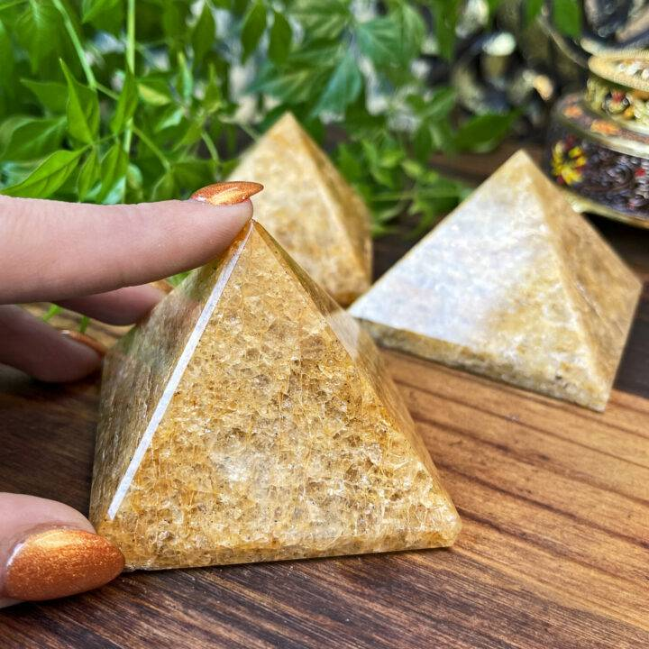 Golden Healing Not to be Named Pyramid