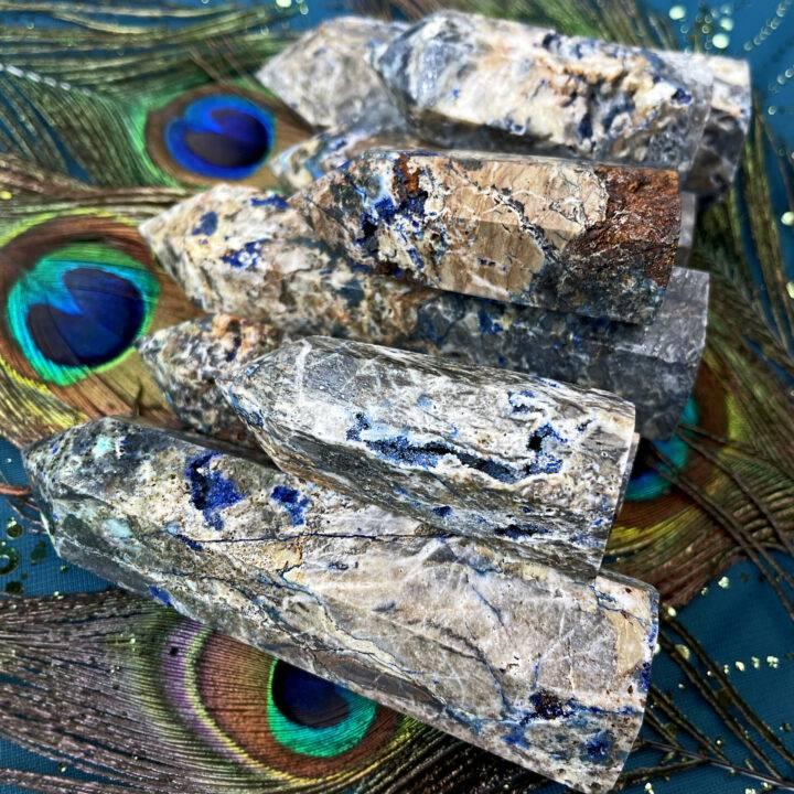 Grounded Priestess Azurite and Hematite Generator