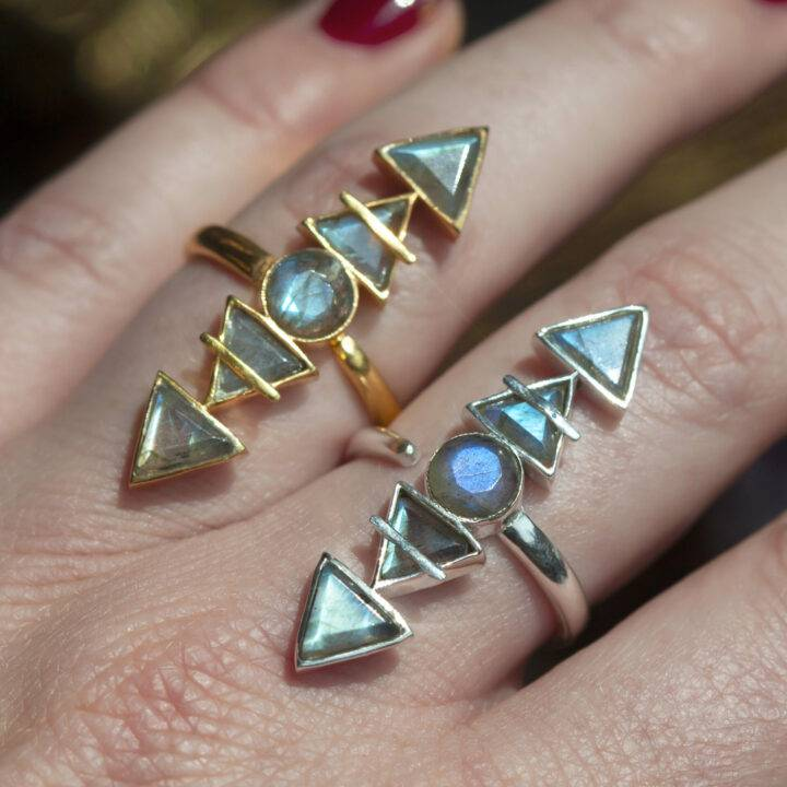 Labradorite Elemental Alchemy Ring