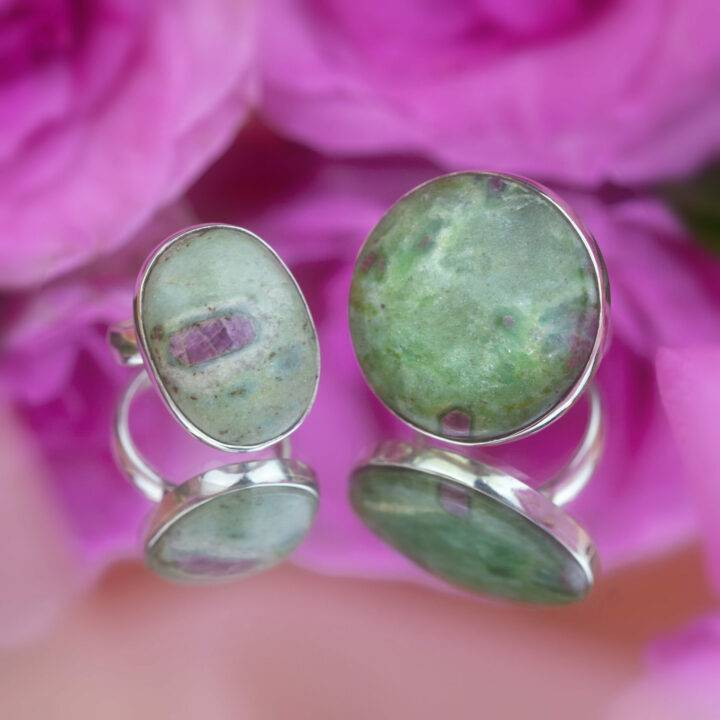 Love and Passion Ruby Fuchsite Ring