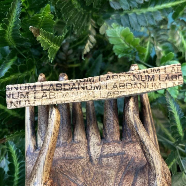 Labdanum Healing Power Infused Palo Santo