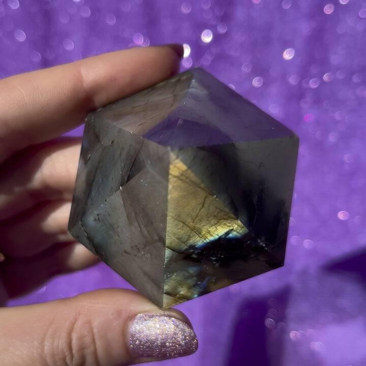 Labradorite Hexagonal Pyramid