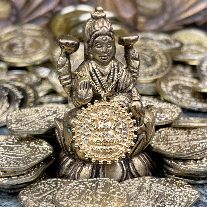 Lakshmi Wealth and Abundance Necklace