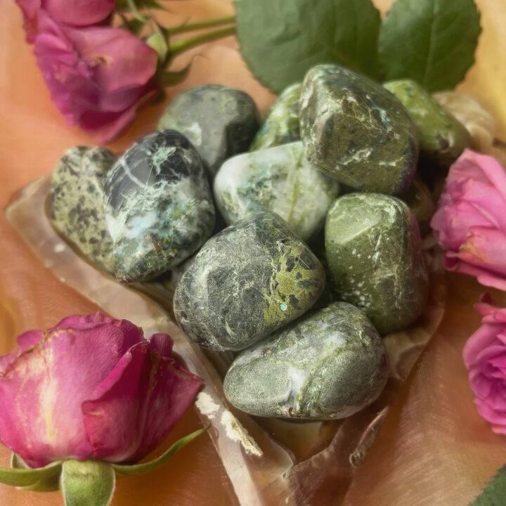 Medium Tumbled Compassion Stone
