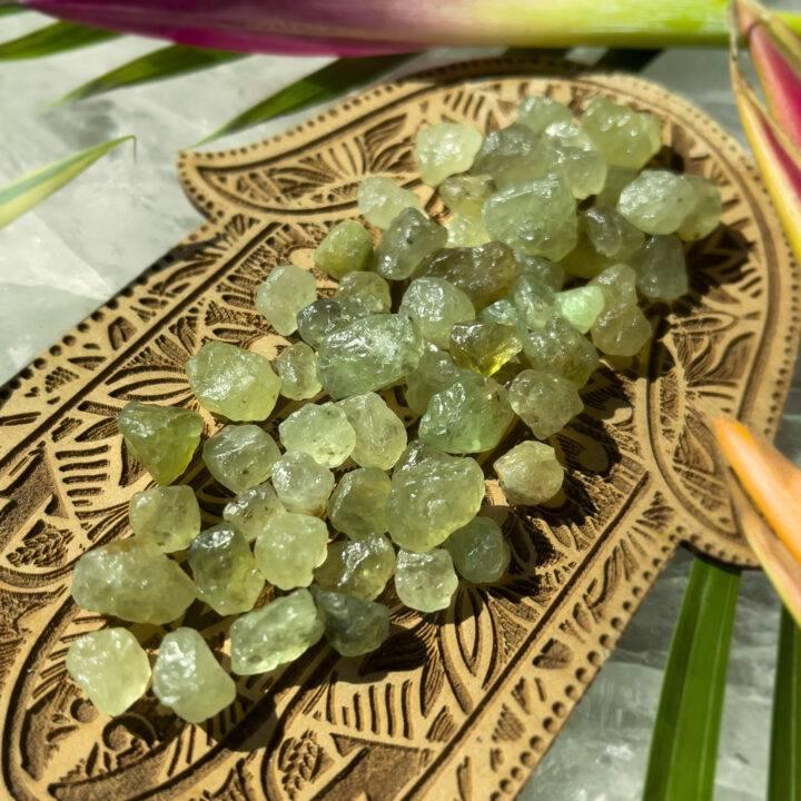 Natural Green Grossular Garnet