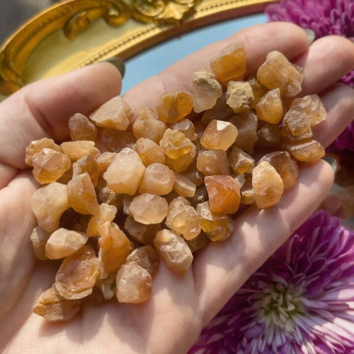Natural Orange Grossular Garnet