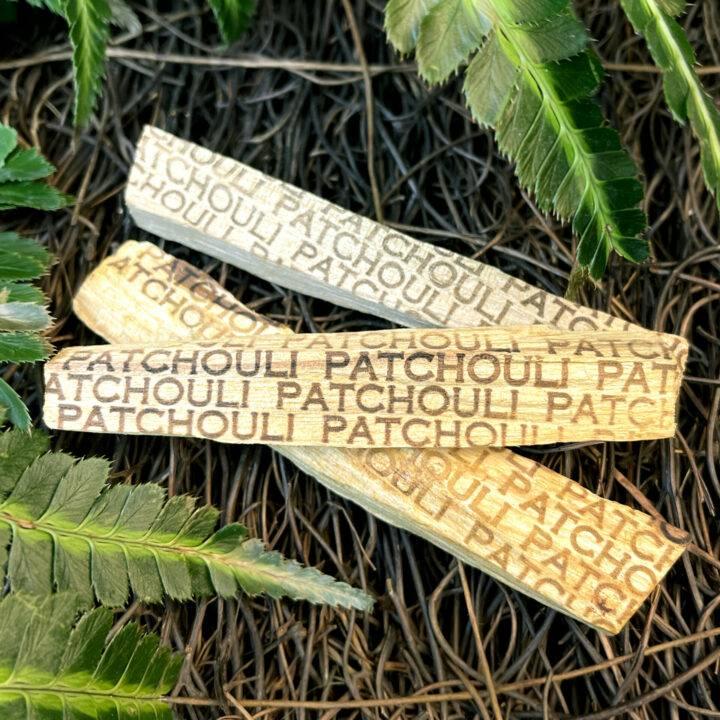 Patchouli Infused Palo Santo