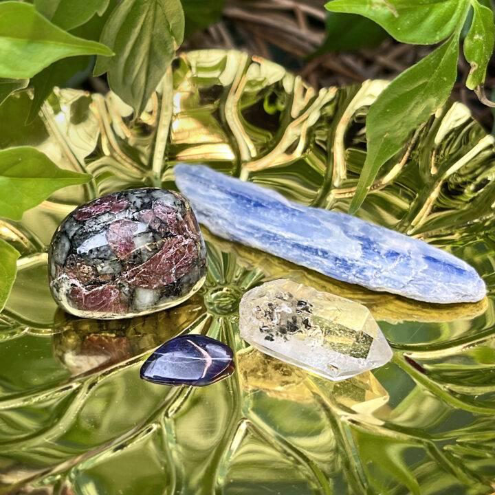 Physical Healing Crystal Quad