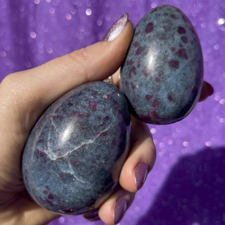 Ruby in Kyanite Egg