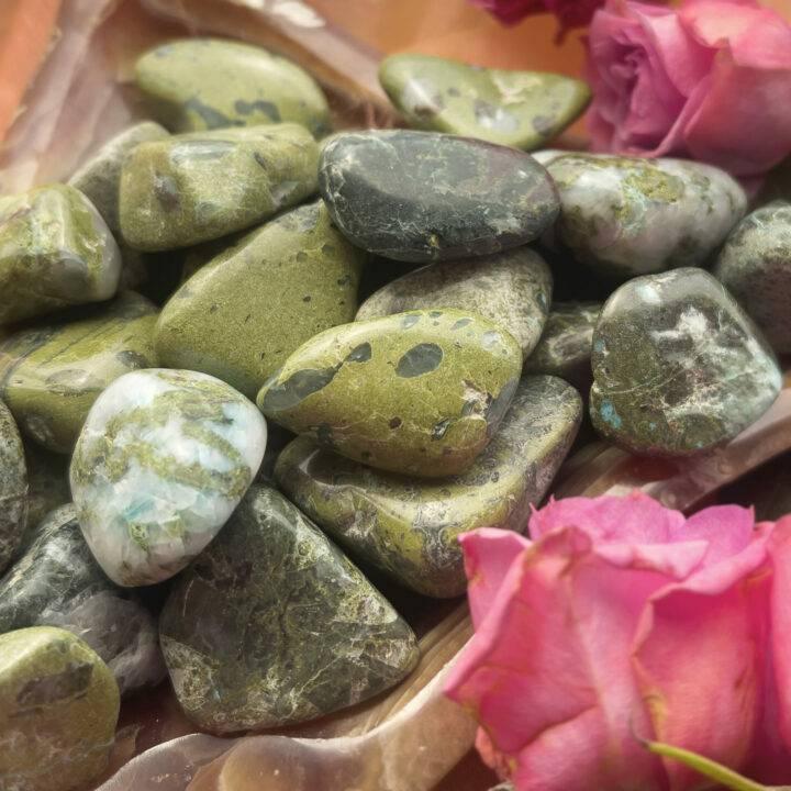 Small Tumbled Compassion Stone