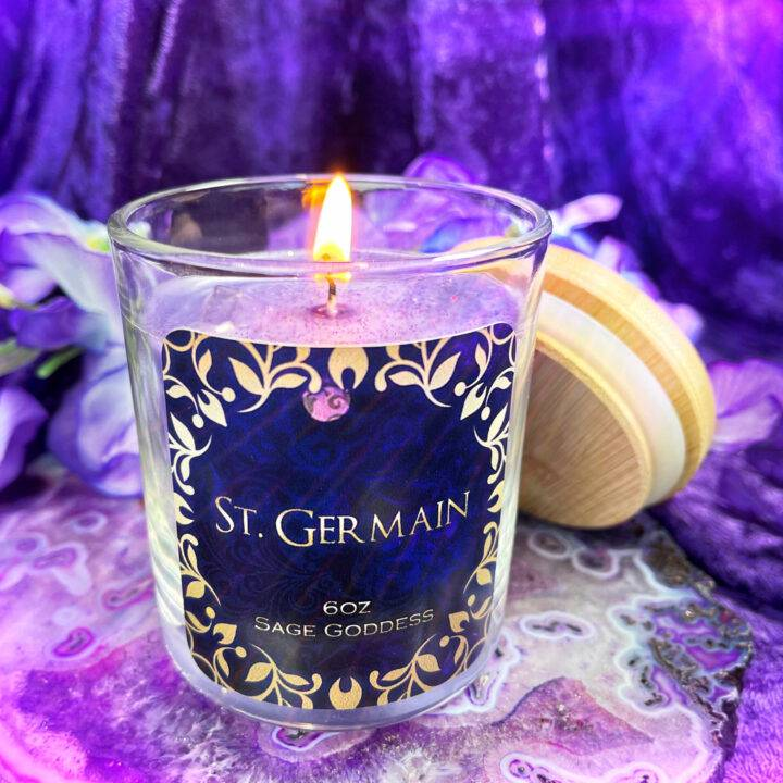 Saint Germain Intention Candle
