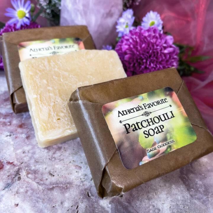 Athena's Favorite Patchouli Cold Process Soap