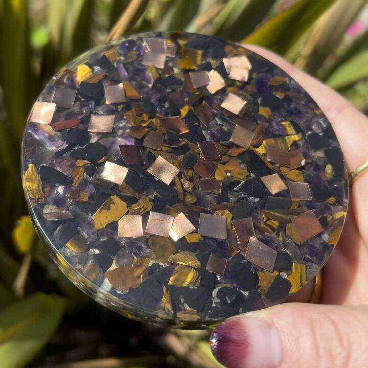 Athena's Shield Orgone Charging Plate