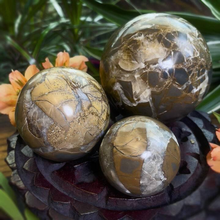 Atlantean Wisdom Indonesian Septarian Sphere